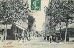 SAINT MANDE VINCENNES Rue Faye Et Rue De Paris - Saint Mande