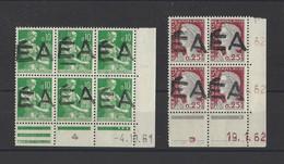 ALGERIE.  YT  N° 354-355  Neuf **  1962 - Algeria (1962-...)