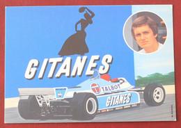 AUTO F1 : Eddy Cheever  Sur Talbot Gitanes - Grand Prix / F1