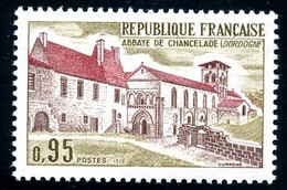 France - 1970 - Abbaye De Chancelade - NEUF - No 1645 - Cote 1,20 € - Unused Stamps