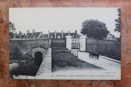 BERGUES (59) - ROUTE D'HONDSCHOOTE - ENTREE DU CANAL SOUTERRAIN - Bergues