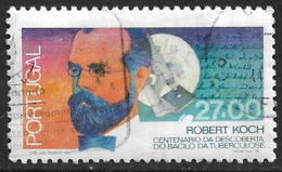 Portugal – 1982 Koch's Bacillus 27.00 Used Stamp - Used Stamps