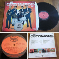 """RARE French LP 33 RPM (12"""") LES CHATS SAUVAGES (1978) - Rock"""