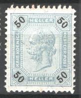 Austria 1899 Unif.75 **/MNH VF/F - Nuevos