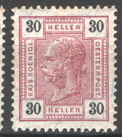 Austria 1905 Unif.89/I */MH VF/F - Nuevos