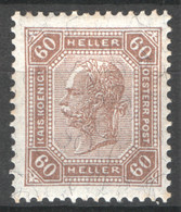 Austria 1905 Unif.93/I */MH VF/F - Nuevos