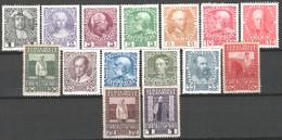 Austria 1908 Unif.101/14,118 */MH VF/F - Nuevos