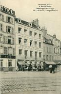 Cpa BOULOGNE SUR MER 62 Bedford Hôtel, 9 Rue De Boston - R. LESON Propriétaire - - Boulogne Sur Mer