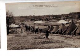 834   AA  CPA Saint Aignan Noyers Camp Américain Tentes Et Baraquements - Sonstige Gemeinden