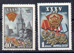 Rusia Serie Nº Yvert 1660/61 ** - Neufs