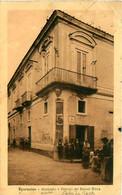 Cpa SPARANISE - Municipio E Palazzo Dei Baroni Ricca - Cachet Hôpital D' Evacuation Mission Militaire Française 1917 - Caserta