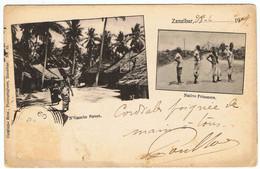 Zanzibar / DND 1909 / N'Gambo Street / Native Prisoners - Tansania