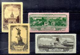Rusia Serie Nº Yvert 1665/68 ** - Neufs