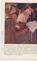 Phono-Photo, TOURNAI Et PERUWELZ.  Carte Postale - Publicitaire Pour Le Gramophone. L. Van Der Aa, Bruxelles - Werbepostkarten