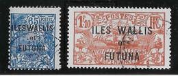 Wallis Et Futuna N°41/42 - Oblitéré - TB - Used Stamps
