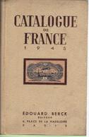 CATALOGUE BERCK FRANCE 1945 TBE - Non Classificati
