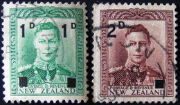 New Zealand - 1941 - Mi:NZ 268,269 Sn:NZ 242,243 Yt:NZ 260,261 O - Look Scan - Used Stamps