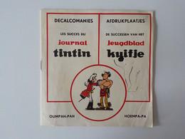 Décalcomanies Afdrukplaatjes Les Succès Du Journal TINTIN Jeugdblad Kuifje Oumpah-Pah - Stickers