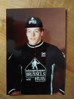 Cyclisme -  Photo Personnelle BRUSSELS HUIS 1984 : Ronny VAN AVERMAET Le Papa De Greg - Cycling