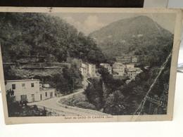 Cartolina Saluti Da Lago Di Canepa Sori Prov Genova 1942  Piega - Genova (Genoa)