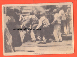 Cartolina Marina Militare Viaggiata 1943 X Campo 577  Marinai Ai Pezzi Guerra - Guerra 1939-45