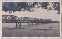 Carte-photo. KHARTOUM. Le Pont (Blue Nile Bridge) - Soedan