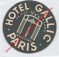 Paris - Hotel Gallic - Rue De L'Arcade - Madeleine - Hotel Label - France - Adesivi Di Alberghi