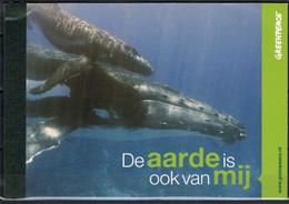 Nederland NVPH PP31 Greenpeace De Aarde Is Ook Van Mij 2012 Prestige Booklet MNH Postfris Flora En Fauna - Carnets Et Roulettes