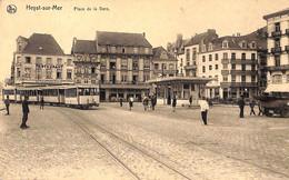 Heist Heyst - Place De La Gare (animation Tram Tramway Oldtimer) - Heist
