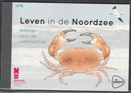 Nederland NVPH PR72 Leven In De Noordzee 2017 Prestige Booklet MNH Postfris - Carnets Et Roulettes