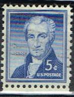 USA 87 - ETATS UNIS N° 590 Obl. Monroe - Gebraucht