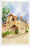 Carte Pub 2 Volets 11.5 X 18 Cm - Saint-Ay La Grande Tour  - Intérieur Replié Vierge - Altri Comuni