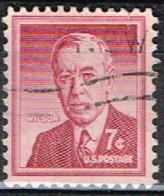 USA 87 - ETATS UNIS N° 601 Obl. Wilson - Gebraucht