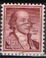 USA 87 - ETATS UNIS N° 639 Obl. John Jay - Gebraucht
