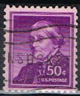 USA 87 - ETATS UNIS N° 604 Obl. Susan Anthony - Gebraucht