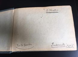 Rare Fontevrault Saumur Angers Album 86 Photos Circa 1900 Photographe Malbois Défilé Enfants Militaire Fête Manège - Otros Municipios