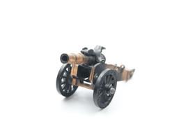 Vintage TOY GUN :  REVOLUTIONARY WAR CANNON PENCIL SHARPENER - L=19cm - 19**'s - Keywords : Rifle - Pistol - Tin - Armi Da Collezione