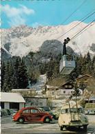 Innsbrucker Nordkettenbahn Talstation VW Volkswagen Kafer Bug Coccinelle DKW 1965 - Innsbruck
