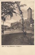 5466) HALLE A. S. - Burg GIEBICHENSTEIN V. BURGHOF Aus - TOP !! - Halle (Saale)