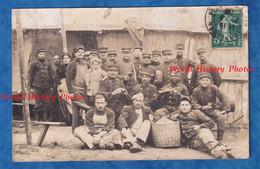 CPA Photo - PERPIGNAN ( Cachet De Départ ) - Beau Portrait De Soldat & Une Petite Fille - Un Militaire Noir - Colonial ? - Uniformen