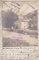 87-SAINT-LEONARD-de-NOBLAT - CARTE-PHOTO Du 5 Mars 1904- Ecrite- Dos Précurseur- - Saint Leonard De Noblat