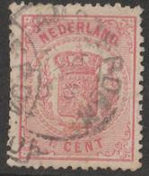 Nederland 1869  NVPH Nr.  16  Used - Usados