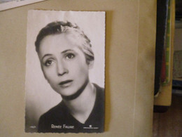 Cpa CPSM  Cp V1950 ARTISTE RENEE FAURE Photo CONTINENTAL FILM - Autres Célébrités