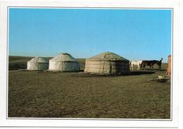 CPM -  Les Yourtes De Nomades   Dans La Steppes En Mongolie - Mongolia