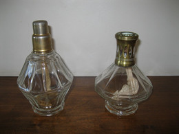 LAMPE BERGER 2 LAMPES BERGER ANCIENNES B DOUZE COTES 1ère (1925-35) Et 2ème VERSION (1935-60) - Unclassified