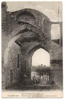 CPA 60 - THIERS (Oise) - Ruines Du Vieux Château. Porte D'entrée (petite Animation) - Chanoz - Autres Communes