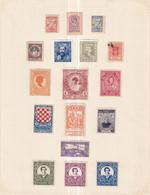 Poland Poster Stamps Vignette Group   1910-15 - Non Classés