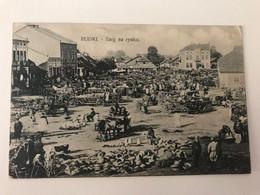 Ukraine 518 Rudky Рудки Rudki 1916 Targ Na Rynku Market Square - Ucrania