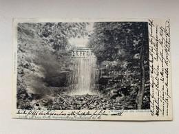 Ukraine 519 Gruss Aus Sotka 1901 Wasserfall Im Dianabad Waterfall - Ucrania