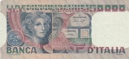 BANCONOTA ITALIA 50000 VF (HP182 - 50000 Liras